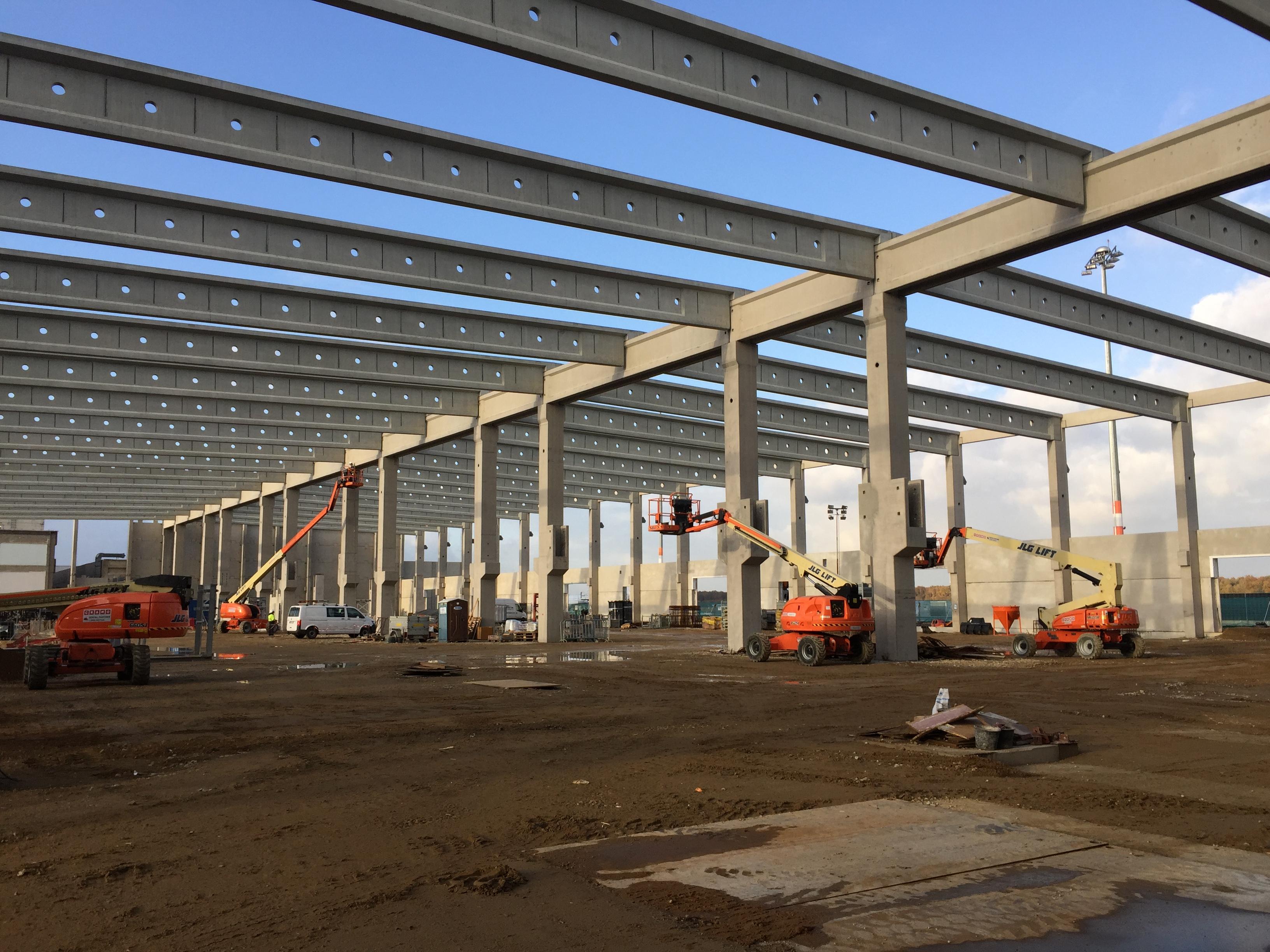 Neubau Frachthalle Köln/Bonn Airport